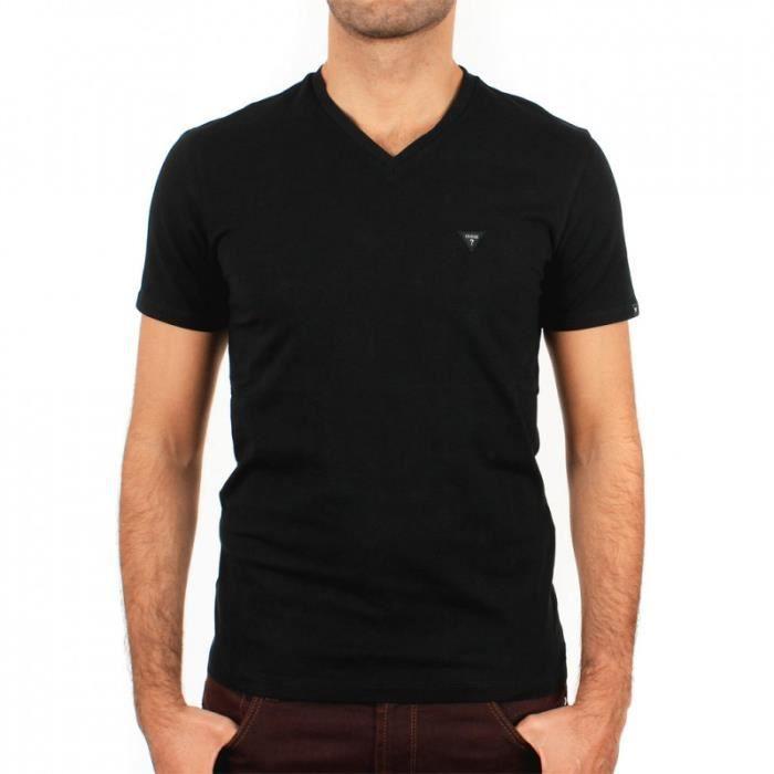 Tee shirt Guess M44I00 Noir