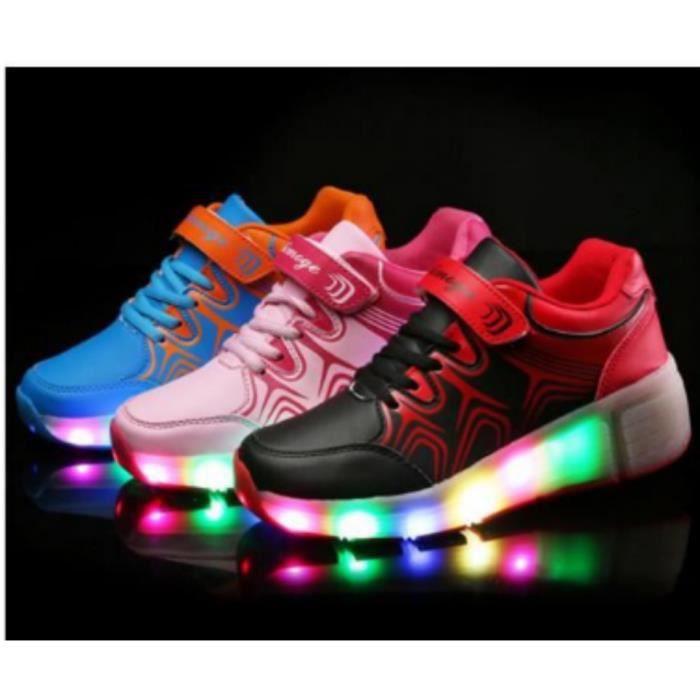 Enfants Chaussures Heelys par des lumières led