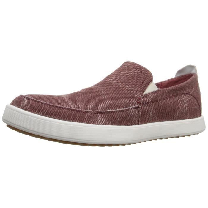 Mocassin Hommes Comfortable Detente Chaussures BZH-XZ74Rouge42