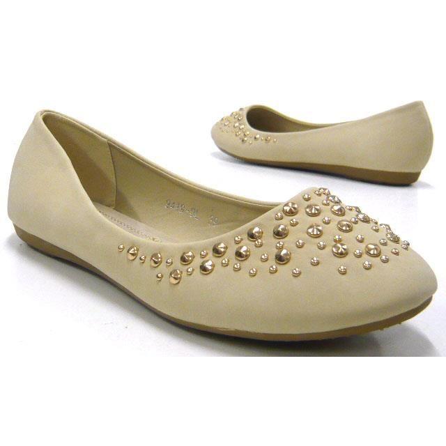 babouche cuir chaussures nouveau douceur de femmes 38 intérieur ballerines beige ZqSvw