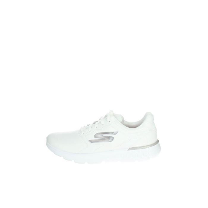 Skechers Petite Sneakers Femme Blanc, 38