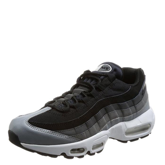 check out 7aa05 b463d ... 749766-021 Noir - Anthracite - Gris foncé 1ULOMW Taille-M. BASKET NIKE  Air Max 95 Chaussures de sport essentielles h