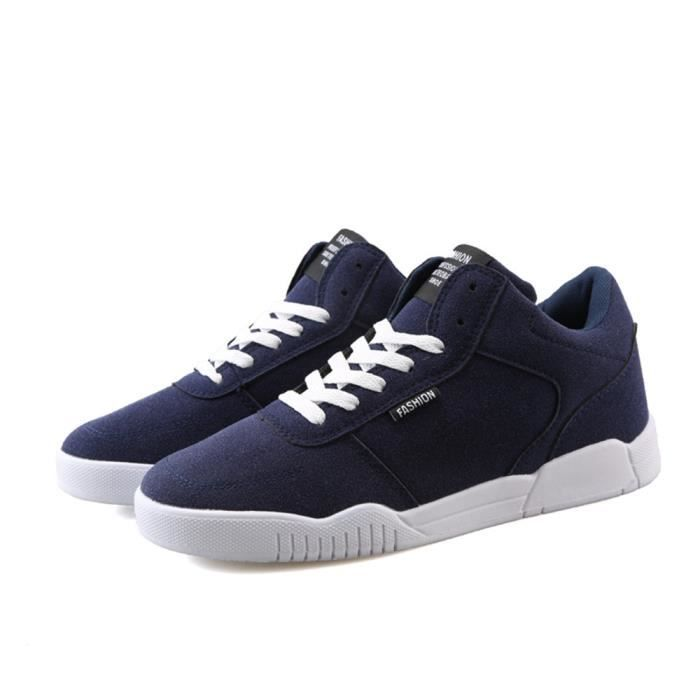 Confortable Plus Qualité Luxe Hommes de Chaussures Marque sport Taille De Supérieure bleu Nouvelle Baskets Durable homme Mode UPw6wHq