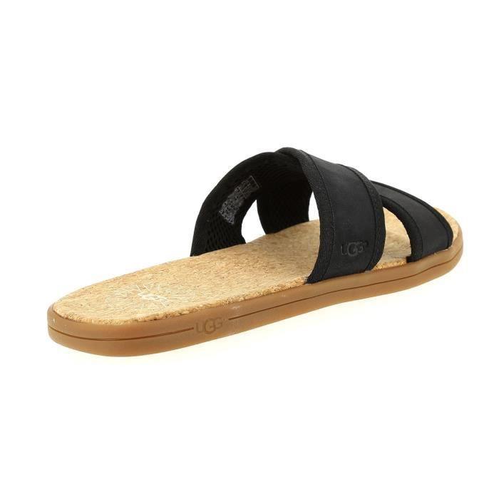 Noir pieds Et Sandales 5 45 Seaside Nu Ugg qgnzC8wB