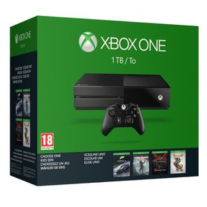 CONSOLE XBOX ONE Xbox One 1 To + 1 jeu aux choix