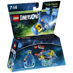 FIGURINE DE JEU Figurine LEGO Dimensions - Benny - La Grande Avent