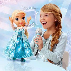 LA REINE DES NEIGES Poupée Chante avec Elsa 35cm