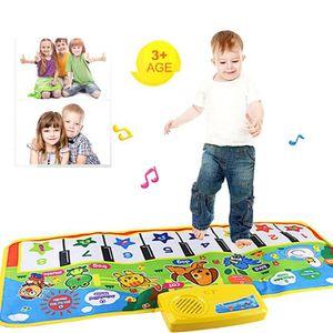 Tonsee®Nouveau Touch Jouer Clavier Musical Musique Chant Gym Tapis Tapis Meilleur Enfants Bébé Cadeau  DYY61008861