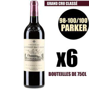 VIN ROUGE X6 Château La Mission Haut-Brion 2016 75 cl AOC Pe