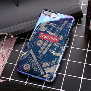 coque iphone 7 supreme bleu