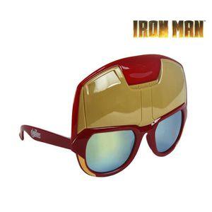 LUNETTES DE SOLEIL Lunettes de soleil   masque pour enfants IRON MAN ... a59645ee9ec4