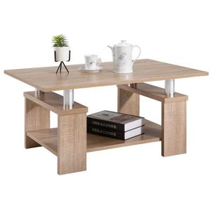 TABLE BASSE Table basse de salon PERCY table d'appoint rectang