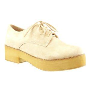 538b7dd2dc48 BOTTINE Angkorly - Chaussure Mode Derbies plateforme femme