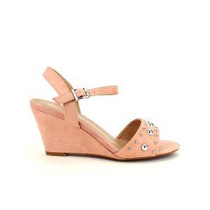 SANDALE - NU-PIEDS sandale - nu-pieds, Compensées Rose Chaussures Fem