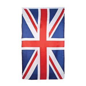 Drapeau Britannique Union Jack Imprimer Bleu Rouge 17 X 17