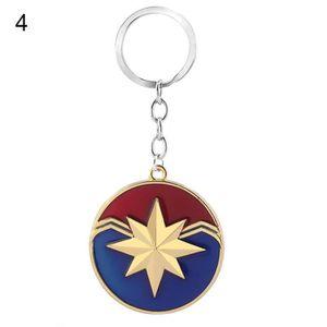 PORTE-CLÉS Super-héros Avengers Logo Captain Marvel Porte-clé