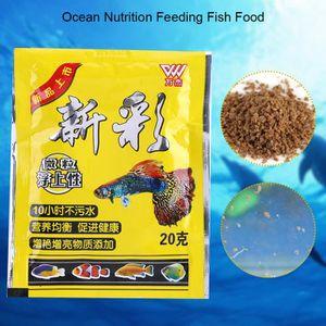 CROQUETTES Aliments pour poissons poissons tropicaux
