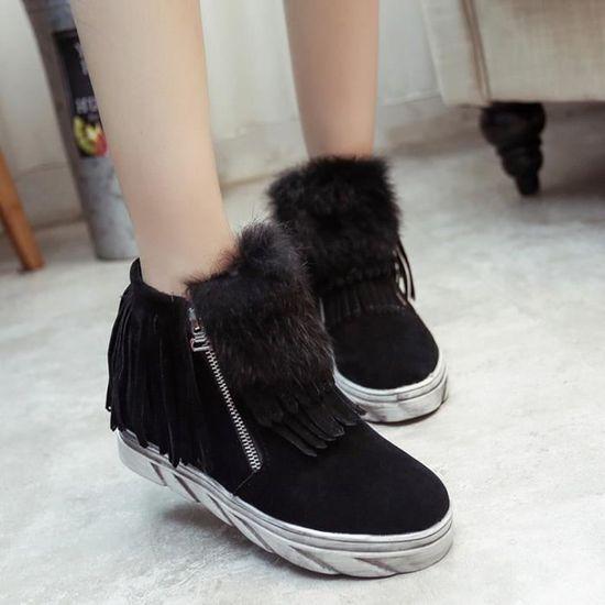 Chaussures Bottes Chaud Femmes Hiver De Waterproof pBwxaqAP
