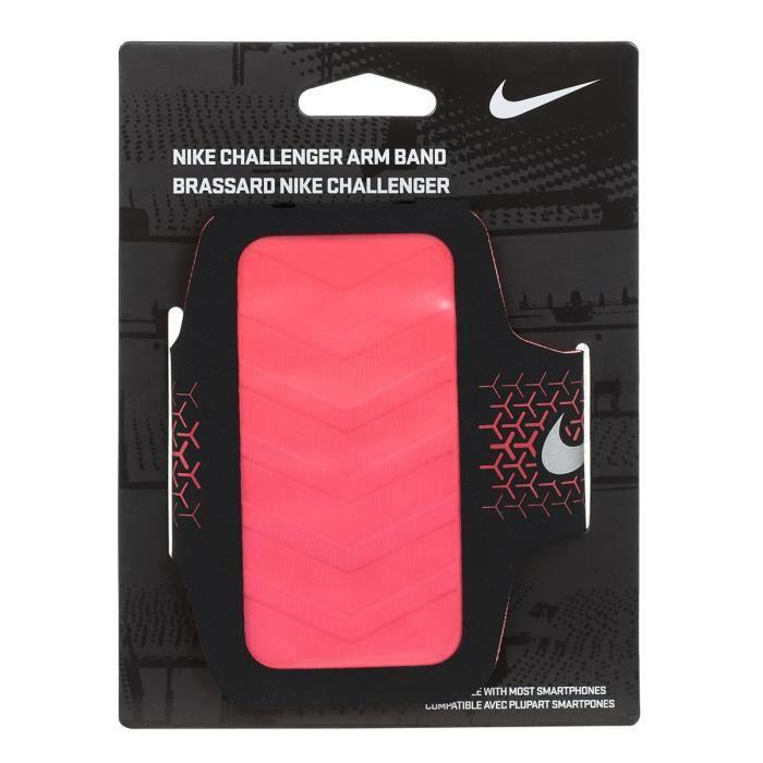 NIKE Brassard pour téléphone Challenger - Noir et rouge