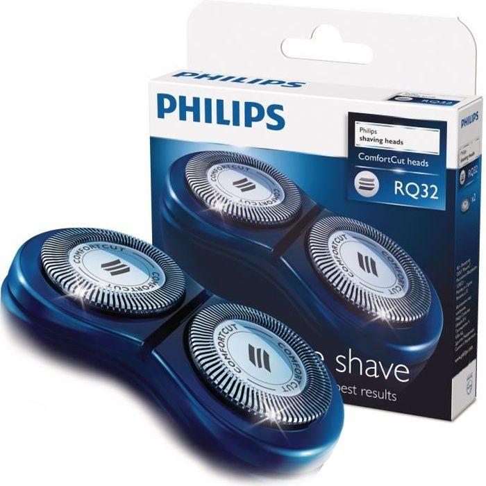 PHILIPS  RQ32/20 Têtes de rasoir électrique compatible Style Shaver
