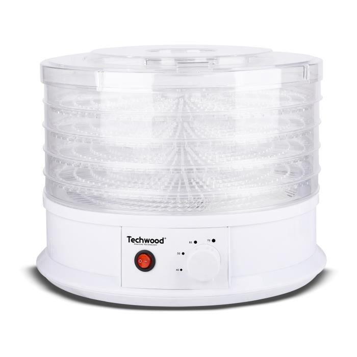 TECHWOOD TDH-511 Déshydrateur d'aliments - Blanc