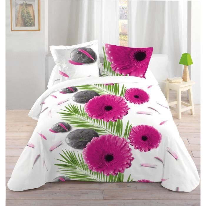 linge de lit parure de drap lovely casa hp41230001 achat. Black Bedroom Furniture Sets. Home Design Ideas