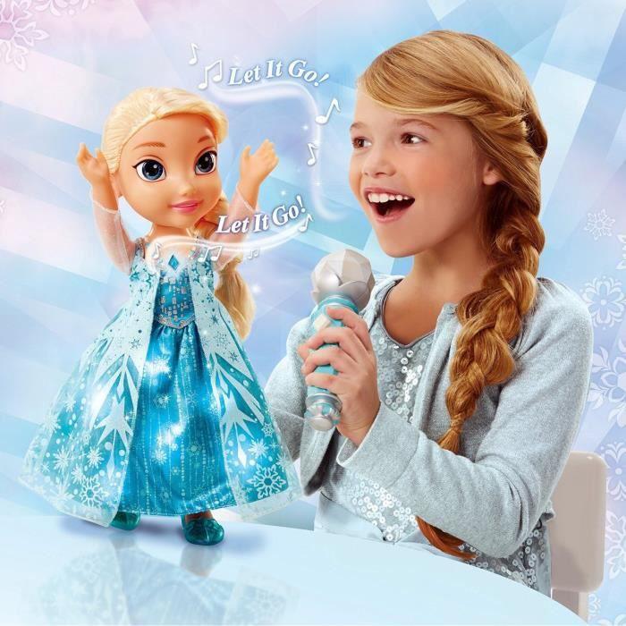 La reine des neiges poup e chante avec elsa 35cm achat - Image la reine des neiges elsa ...