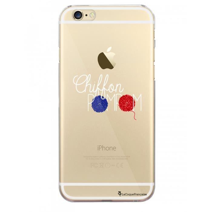 coque iphone 6 plus pompom