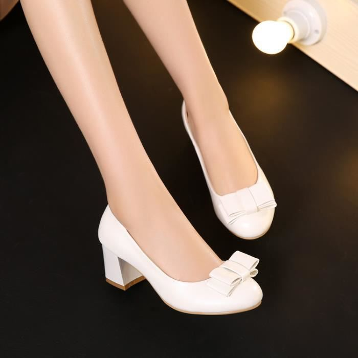 talons hauts-Pure Color Low Heel Heelpais de ...