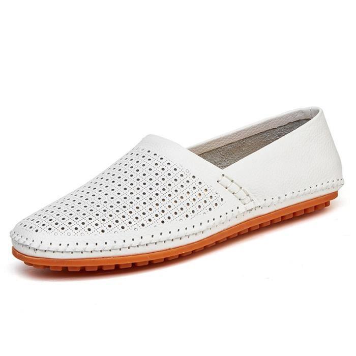 Chaussure Homme En Cuir Qualité Supérieure De Marque Classique Chaussures Mocassin RespirantOccasionnelles Ultra Confortable