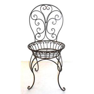 porte plante fer forge achat vente porte plante fer forge pas cher soldes d s le 10. Black Bedroom Furniture Sets. Home Design Ideas