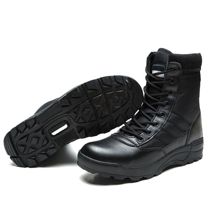 Bottes Hommes Haute-Top Tactique Cheville Désert Bottes Combat Militaire Chaussures Portable Durable Armée Securite Bottes De Combat Sw8pkFPY0P
