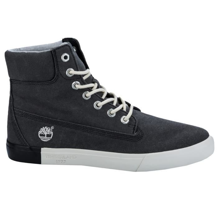 Chaussures Timberland Newport Bay 6 inch Canvas pour Hommes en Charbon kOl949wmg