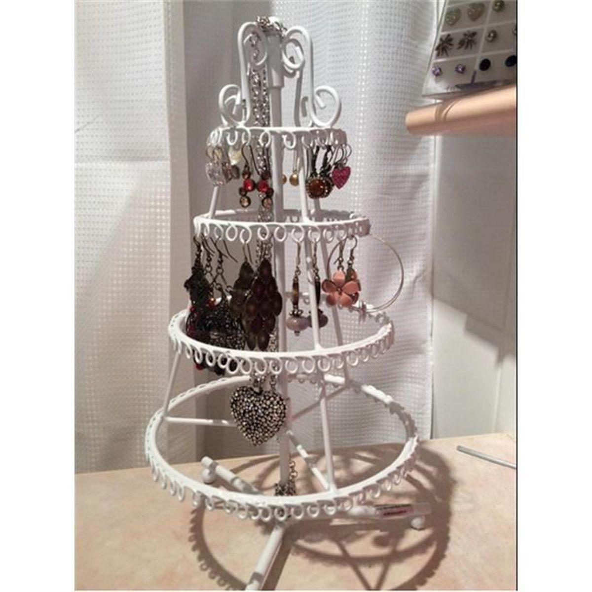 kouan porte bijoux arbre de no l pour rangement et pr sentation de bijouterie organisateur des. Black Bedroom Furniture Sets. Home Design Ideas