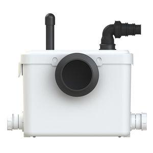 BROYEUR POUR WC AQUASANI 3 - Broyeur Sanitaire - Made in FRANCE -