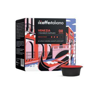 CAFÉ 100 Capsules  de Café Venezia compatibles avec mac