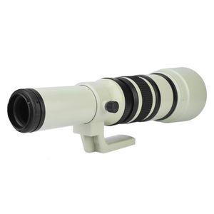 PLANCHE POUR LENTILLE Objectif téléobjectif professionnel 500 mm F6.3 à