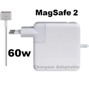 CHARGEUR - ADAPTATEUR  CHARGEUR  compatible Apple Mac Book 13 - Magsafe 2