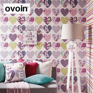PAPIER PEINT Papier Peint Chambre Revêtements Muraux Filles ... Images Etonnantes