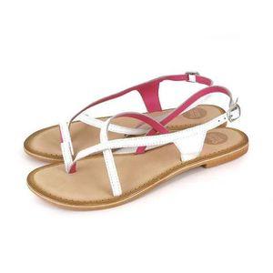 Napoulen®Mode Printemps été femmes coin sandales mode poisson bouche creuse Roma Beige-XPP71221552BG 3ESfdE36