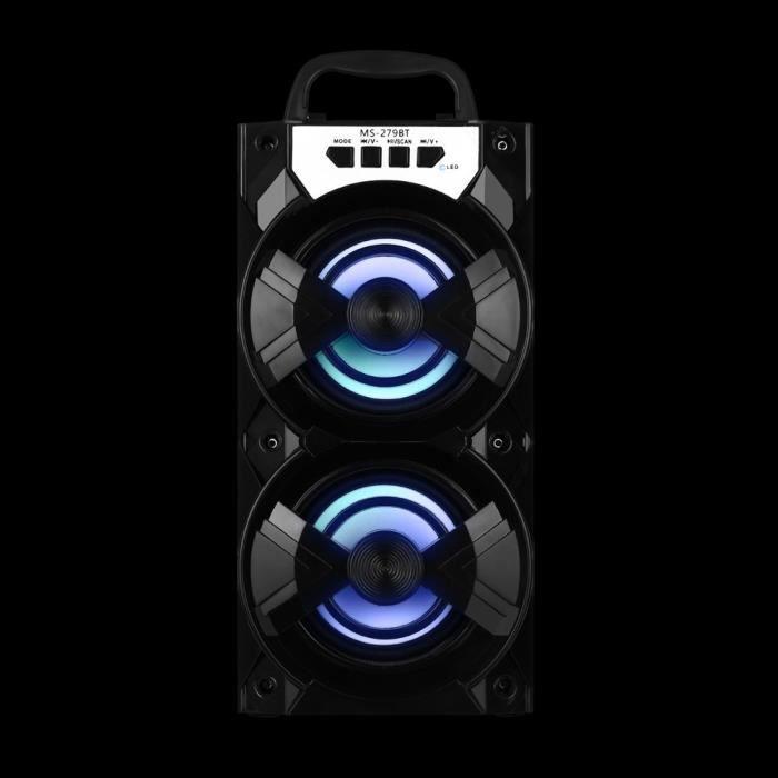 Extérieur Haut-parleur Portable Bluetooth Stéréo Sans Fil Super Bass W - Radio Usb Tf Fm @5308