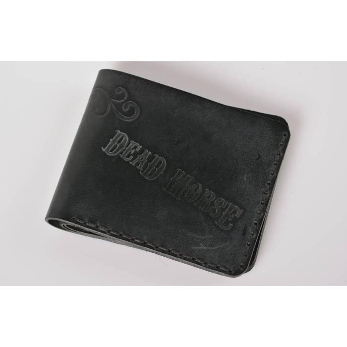 13ca1581aeb ... original noir pour homme -527660517. PORTEFEUILLE Portefeuille en cuir  fait main Maroquinerie Cadeau