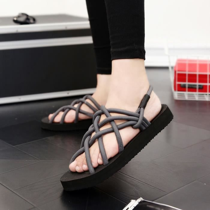 Fond épais Chaussures Casual Shoes Sandales de printemps Les nouveaux hommes