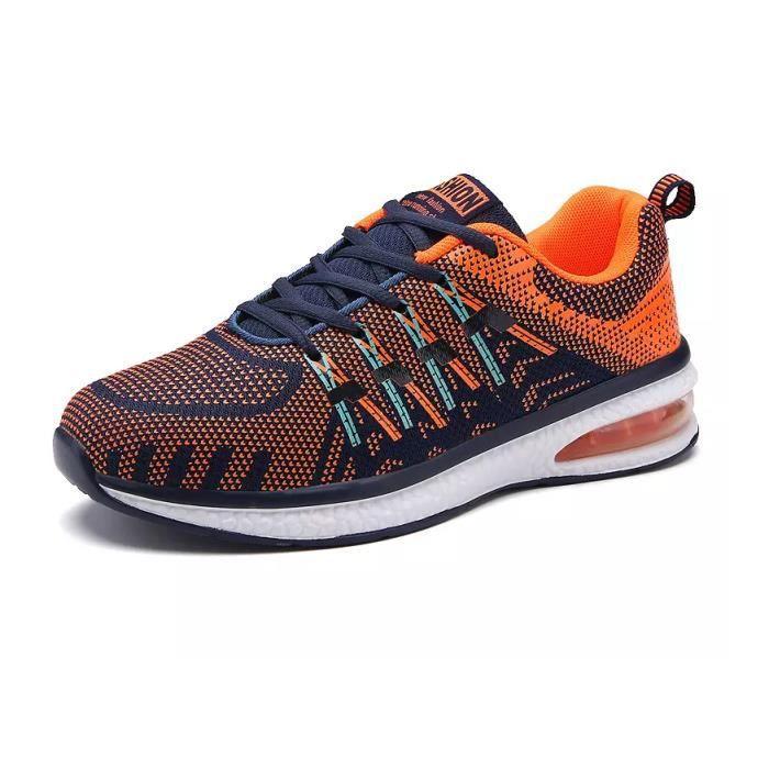 Baskets chaussures de sport respirantes chaussures de course chaussures de coussin d'airHommes et femmes Mc0zzP1i