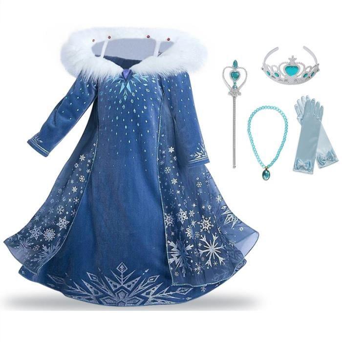 DÉGUISEMENT - PANOPLIE Filles Reine des Neiges Princesse Partie Costumée