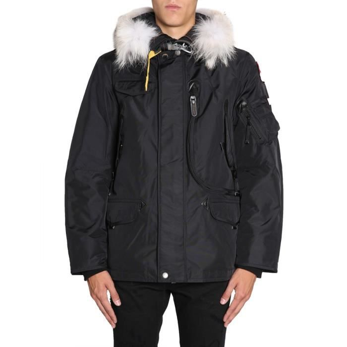 PARAJUMPERS HOMME PMJCKMA03RIGHTHAN541 NOIR POLYAMIDE