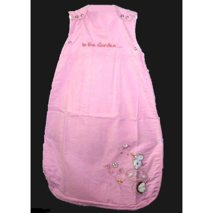 03e2e04daff9b Gigoteuse été naissance 6 mois bébé fille turbulette en coton rose tog 1