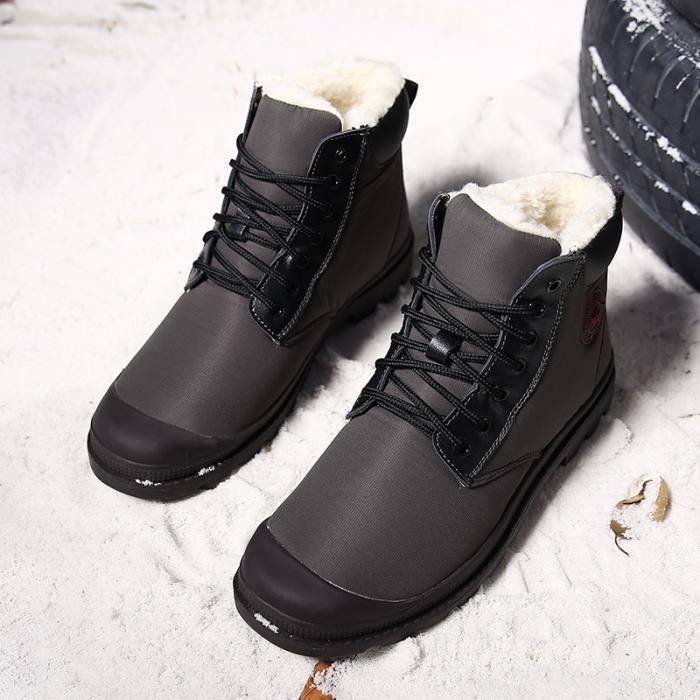 neige Sport chaud Bottes coréenne d'homme Vintage 7Pq4Cwf