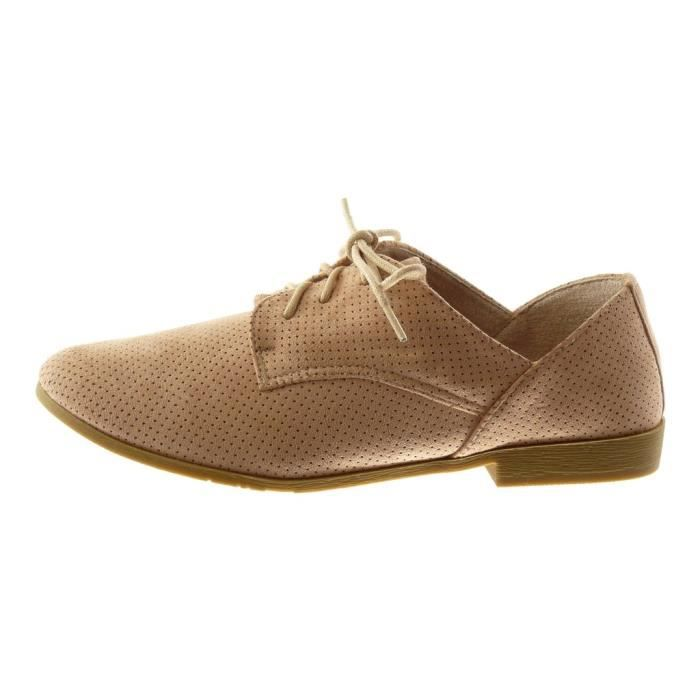 Taille Shoes Block Derby 2 Cm ShoePerforated Women's Heel 39 Fashion 3g8b7l kZOuPXi