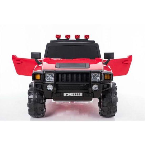 4x4 Hummer électrique 2 places 12V pour enfant Rouge - Achat   Vente  voiture enfant - Cdiscount 59089f41749c